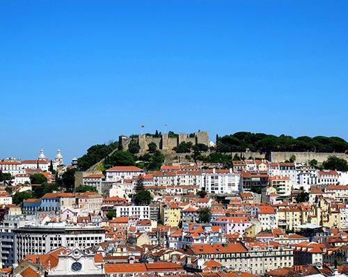 Mirador Sao Pedro Alcantara Lisboa