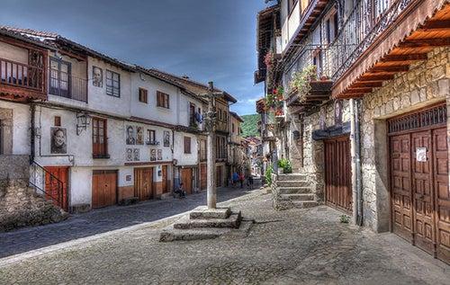 Mogarraz, un hermoso pueblo en la Sierra de Francia