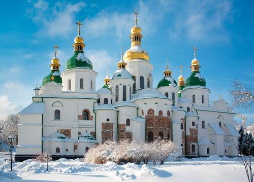 Catedral de Santa Sofía en Kiev.