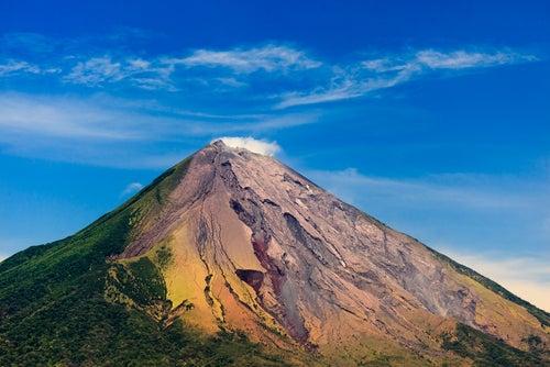 Volcán Concepción en Isla de Ometepe