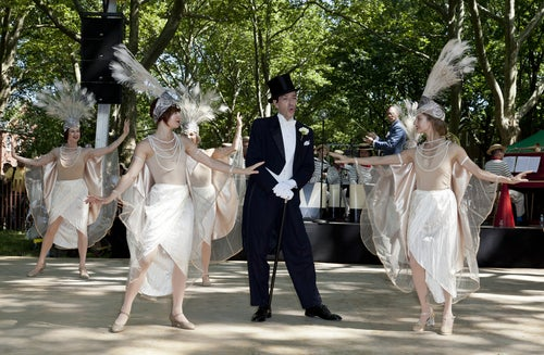 Representación teatral en Central Park