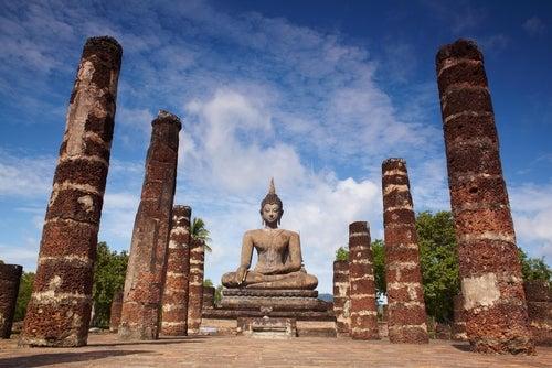 Wat Mahathat en Sukhotai