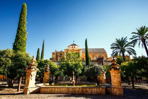 Patio de los naranjos de Córdoba