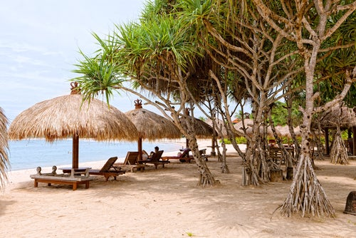 Playa en Bali