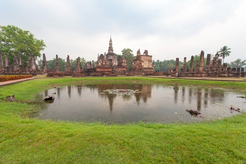 Parque Histórico Sukhotai en Tailandia