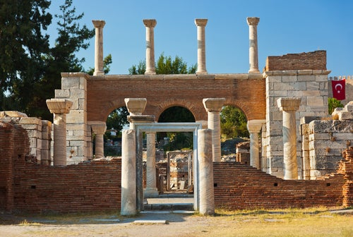 Basílica de San Juan en Éfeso