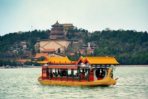Lago del Palacio de Verano de Pekín