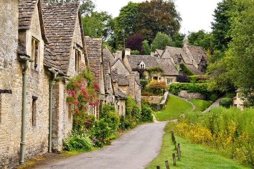 Bibury en Inglaterra