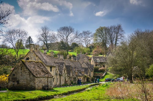 Arlington Row en Bibury
