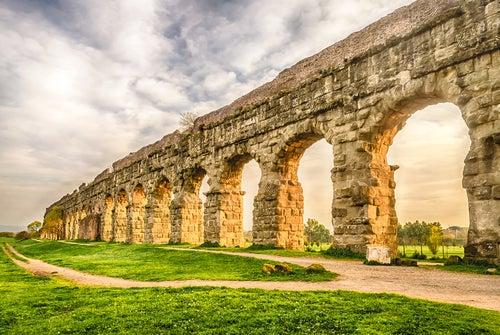 Acueducto en Roma