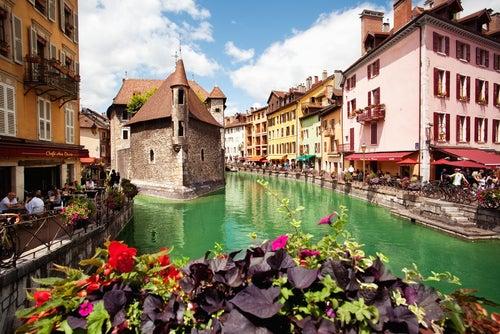 Annecy en Francia, un pueblo encantador