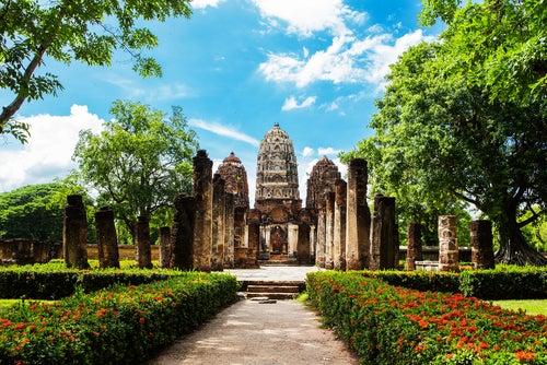 Wat Si Sawai en Sukhotai