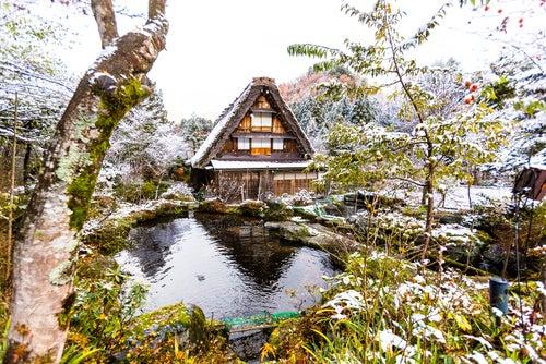 Shirakawago en Japón, un pueblo de cuento de hadas