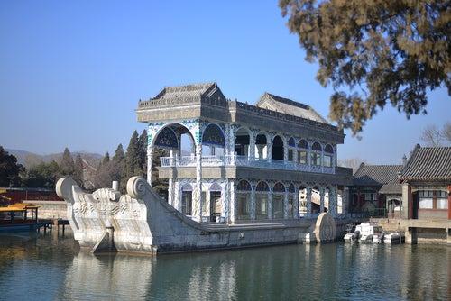 Barco de Mármol en el Palacio de Verano