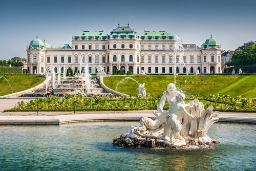 Palacio Bellvedere en Viena