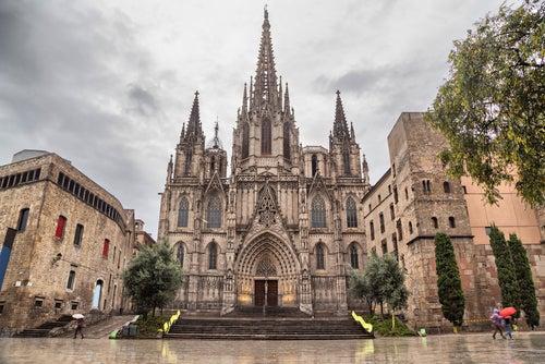 La catedral de Barcelona, un edificio magnífico