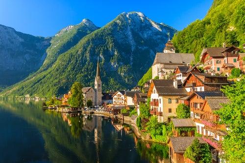 Hallstatt en Austria, un pueblo de cuento