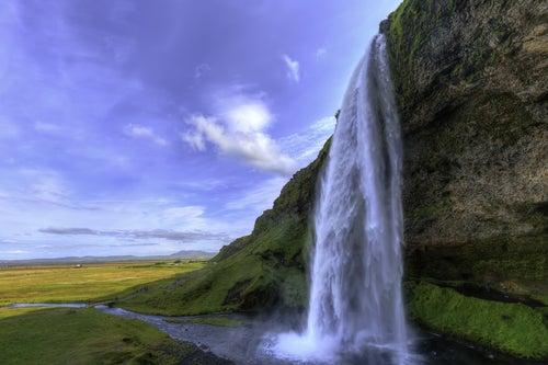 Cascada Selfalandfoss en Islandia