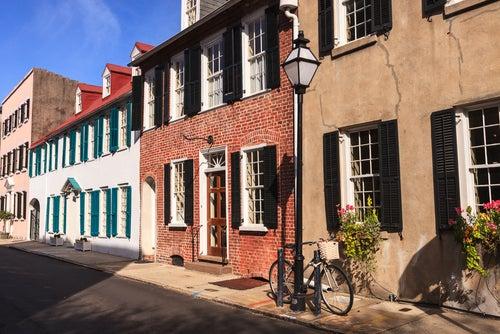 Casas antiguas en Charleston