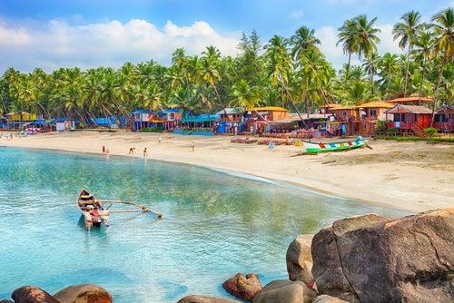 Playa en Goa