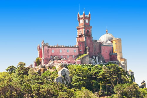 El Palacio da Pena en Sintra y su belleza