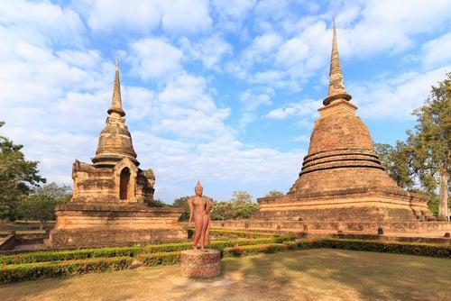 Wat Sa Si en Sukhotai