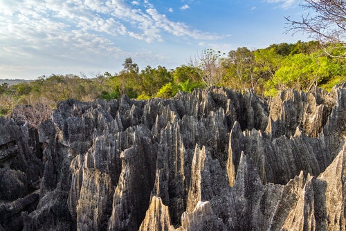 Mar de piedra de Tsingy, un paisaje de otro planeta