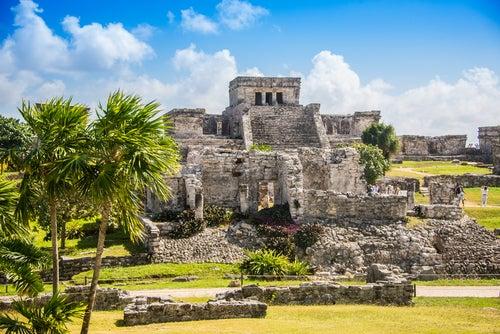 Ruinas mayas en Tulum
