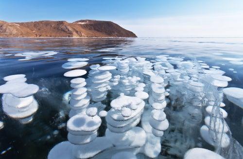 Lago Baikal en Rusia