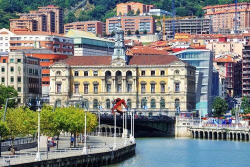 Disfrutamos de un día maravilloso en Bilbao