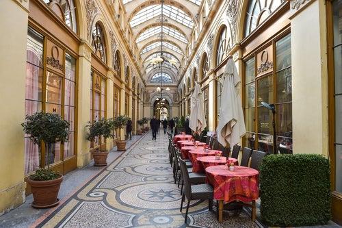 Galería Vivienne en París