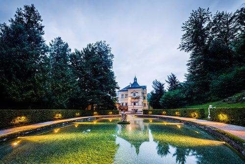 Palacio de Hellbrun en Salzburgo