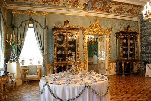 Interior del Palacio Peterhof