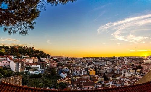Lisboa desde el Castelo de Sao Jorge