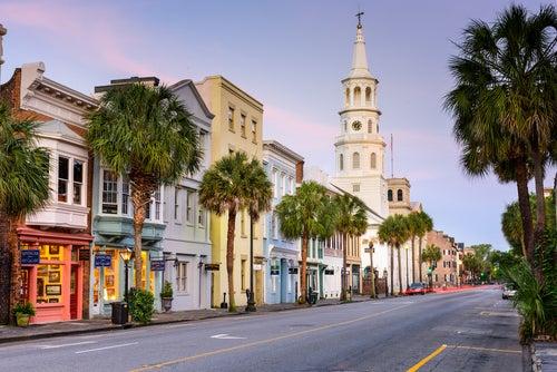 Charleston, ciudad irrepetible en los Estados Unidos
