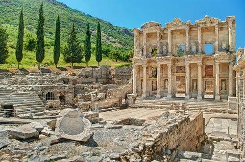 Las ruinas de Éfeso en Turquía, recuerdo de un pasado glorioso