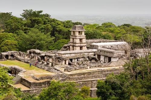 Ruinas de Palenque en Chiapas