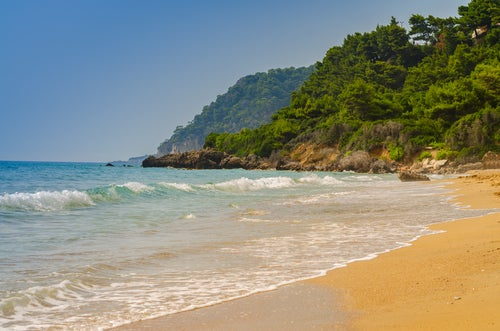 Playa de Vrachos en Preveza