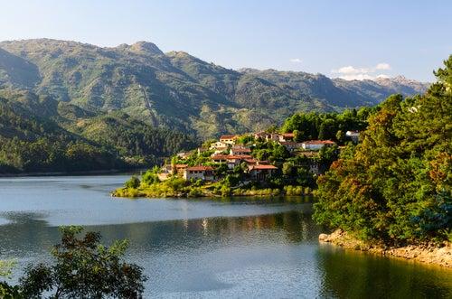 Parque Nacional Peneda Geres en Portugal