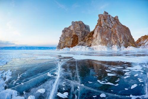 Lugares misteriosos lago Baikal
