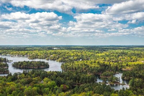 Mil Islas en Canadá, idílicas y sorprendentes