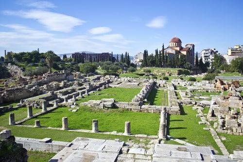 Cementerio de Keramikos en Atenas