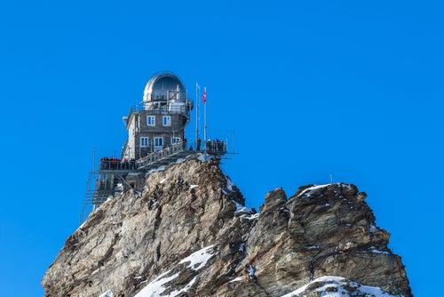Observatorio Sphinx en Jungfraujoch