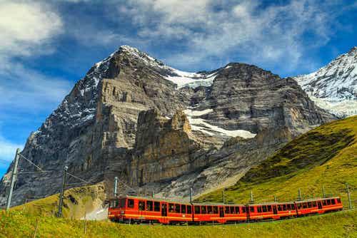 El tren de Jungfrau en Suiza, un recorrido inolvidable