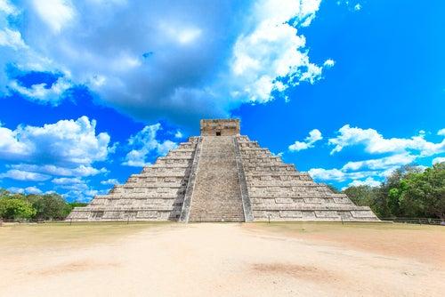 Pirámide Kukulkán en Chichén Itzá