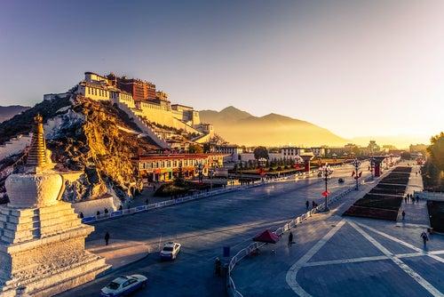 Palacio de Potala en Tíbet