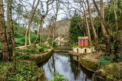 Jardines del Palacio da Pena en sintra