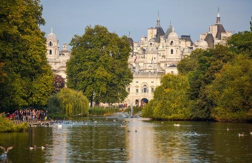 Sant James Park en Londres