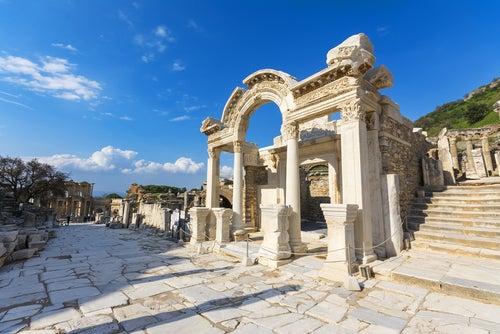 Templo de Adrián en Éfeso