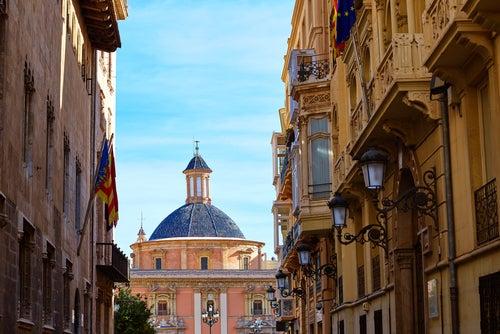 Calle Caballeros en Valencia